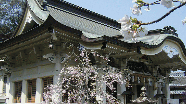 滋賀県 武雄神社(たけおじんじゃ)