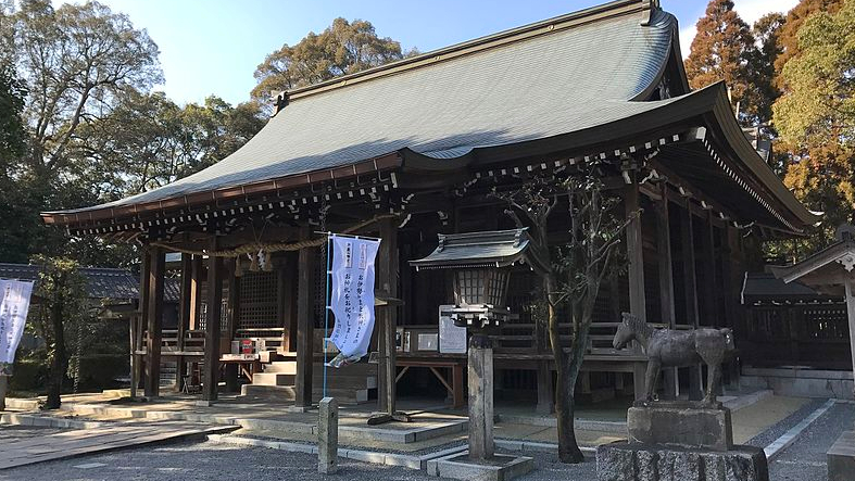 滋賀県 千栗八幡宮(ちりくはちまんぐう)